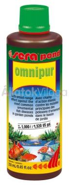 Sera pond omnipur 250 ml-es 5 m3-hez