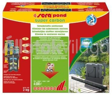 Sera pond super carbon tavi aktív szén 2 kg-os