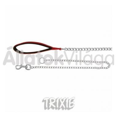 Trixie láncos póráz csavart csiszolt 4mm/80cm + 20cm fogó 21963