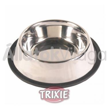 Trixie fém tál gumis 0,90 literes 24853