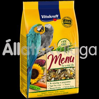 Vitakraft Premium Menü jákó-ara eledel 1 kg-os