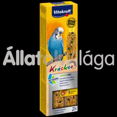 Vitakraft Kräcker Feather Care tollváltáshoz hullámos papagájnak 2 db-os