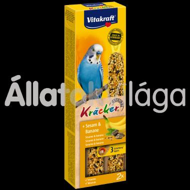 Vitakraft Kräcker szezámmag & banán hullámos papagájnak 2 db-os