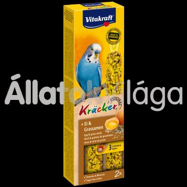 Vitakraft Kräcker tojás & fűmag hullámos papagájnak 2 db-os