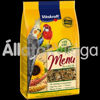 Vitakraft Premium Menü nagypapagáj eledel 1 kg-os