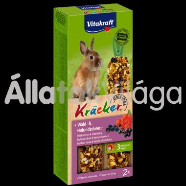 Vitakraft Kräcker erdeigyümölcs & bodza törpenyúlnak 2 db-os