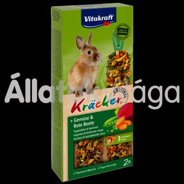 Vitakraft Kräcker zöldség & cékla törpenyúlnak 2 db-os