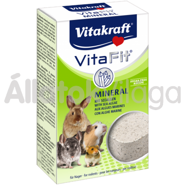 Vitakraft Vita Fit Mineral algáskocka rágcsálóknak 1 db-os