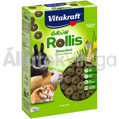 Vitakraft Grün Rollis rágcsálónak 300 g-os