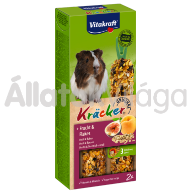 Vitakraft Kräcker gyümölcs & zabpehely tengerimalacnak 2 db-os