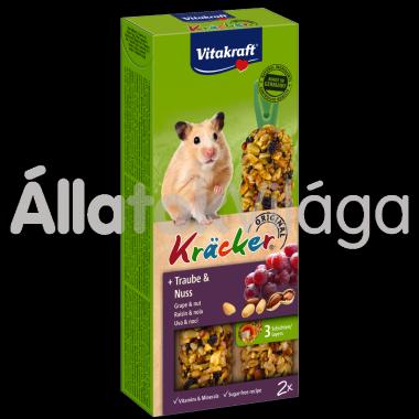 Vitakraft Kräcker szőlő & mogyoró aranyhörcsögnek 2 db-os