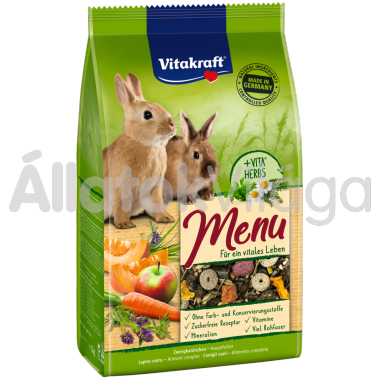 Vitakraft Premium Menü Vital törpenyúl eledel 1 kg-os