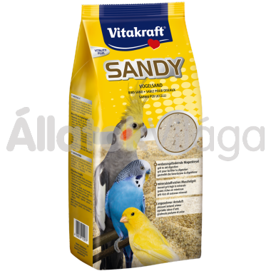 Vitakraft Sandy madárhomok hullámos papagájoknak 2,5 kg-os