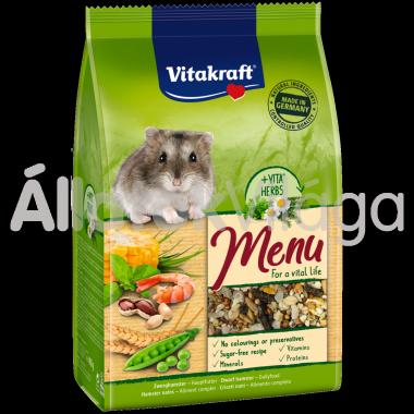 Vitakraft Premium Menü Vital törpehörcsög eledel 400 g-os