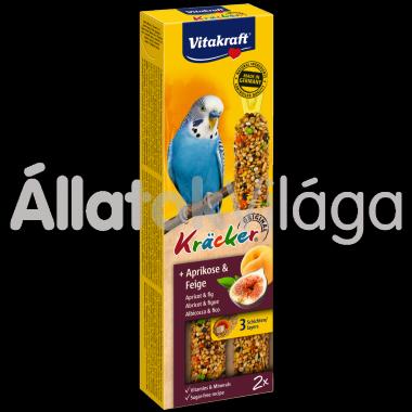 Vitakraft Kräcker sárgabarack & füge hullámos papagájnak 2 db-os