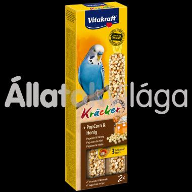 Vitakraft Kräcker PopCorn & méz hullámos papagájnak 2 db-os