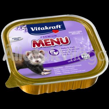Vitakraft Premium Menü vadászgörény eledel konzerv 100 g-os