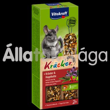 Vitakraft Kräcker gyógynövény & csipkebogyó csincsillának 2 db-os