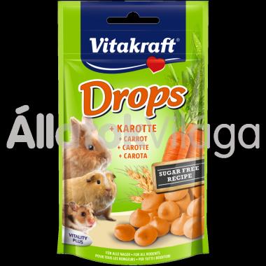 Vitakraft Drops +Karotte répás rágcsálóknak 75 g-os