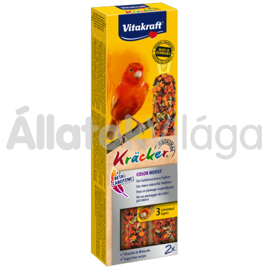 Vitakraft Kräcker ColorBoost színerősítő kanárinak 2 db-os