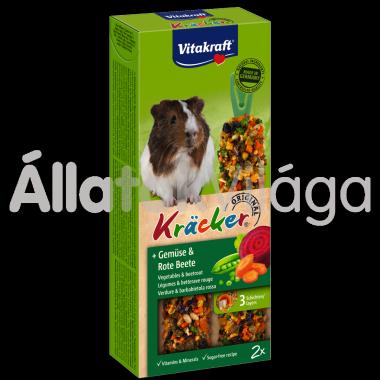 Vitakraft Kräcker zöldség & cékla tengerimalacnak 2 db-os