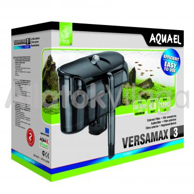 AquaEl Versamax FZN-3 külsőszűrő 80-300 literig