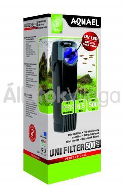 AquaEl UniFilter 500 UV belsőszűrő 100-200 literig