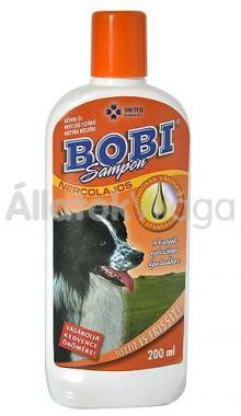 Bobi nercolajos sampon kutyának 200 ml-es