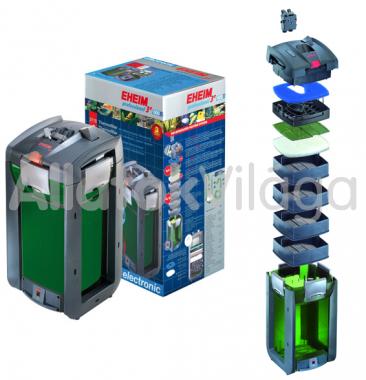 Eheim professionel 3e 600T külsőszűrő 300-600 literig szűrőtöltet nélkül + beépített fűtővel 2178010