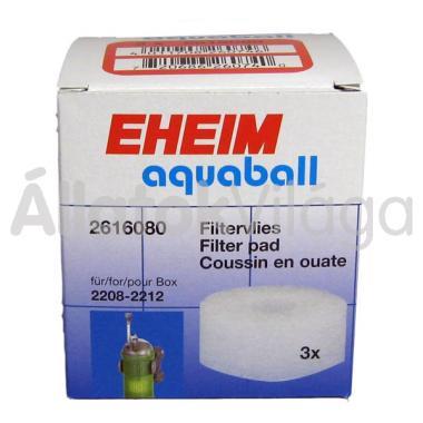 Eheim fehér finom szűrőbetét aquaball/biopower szűrőhöz 3 db-os 2616080