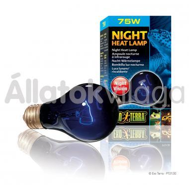 Exo-Terra Night Heat éjszakai fűtő-holdfény izzó E27/T10/75 W-os PT2130