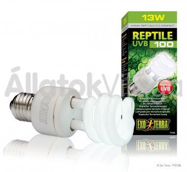 Exo-Terra Reptile UVB 100 (Repti Glo 5.0) E27 kompakt fénycső 13 W-os PT2186
