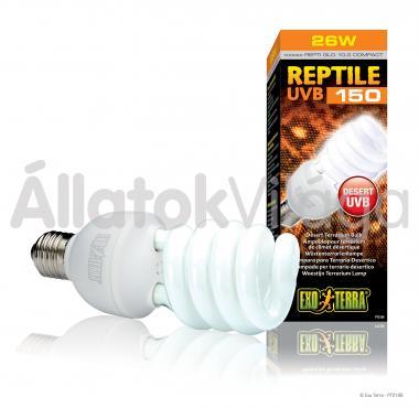 Exo-Terra Reptile UVB 150 (Repti Glo 10.0) E27 kompakt fénycső 25 W-os PT2189