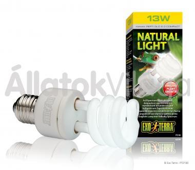 Exo-Terra Natural Light (Repti Glo 2.0) E27 kompakt fénycső 13 W-os PT2190