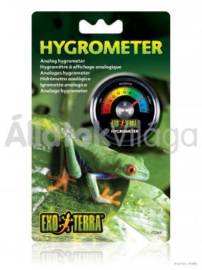 Exo-Terra Hygrometer analóg páramérő PT2466