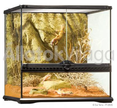 Exo-Terra Natural Terrarium Small/Wide terrárium kicsi/széles 45x45x45 cm-es PT2605