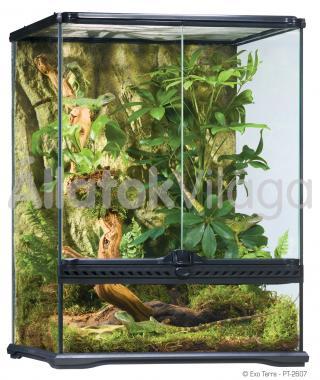 Exo-Terra Natural Terrarium Small/Tall terrárium kicsi/magas 45x45x60 cm-es PT2607