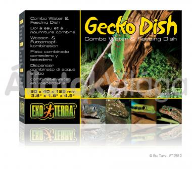 Exo-Terra Gecko Dish gekkó tál 90x40x125 mm-es PT2810