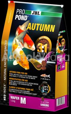 JBL ProPond Autumn Wafer M-es tavi haltáp 3 liter/ 1,5 kg-os