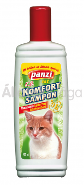 Panzi Komfort sampon macskáknak 200 ml-es