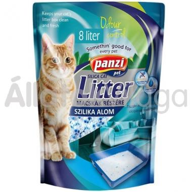 Panzi Pussy Cat macskaalom 8 literes