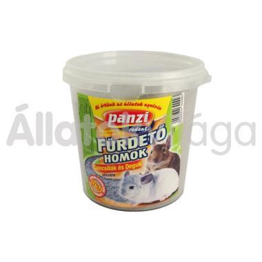Panzi Fürdető homok csincsillák és deguk részére 1 literes