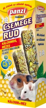 Panzi Csemege rúd kistestű rágcsálóknak kálciumos, mézes 2 db-os