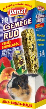 Panzi Csemege rúd tengerimalacoknak vegyes gyümölcsös 2 db-os