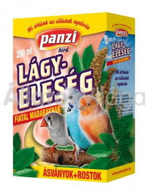 Panzi lágyeleség fiatal madaraknak 200 ml-es