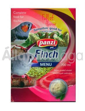Panzi Finch exota - pinty eledel 700 ml-es