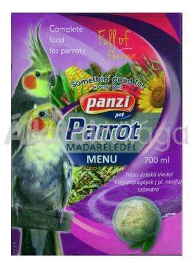Panzi Parrot nagy-papagáj eledel 700 ml-es