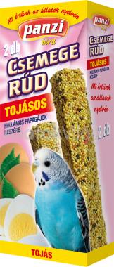 Panzi Csemege rúd hullámos papagájoknak tojásos 2 db-os