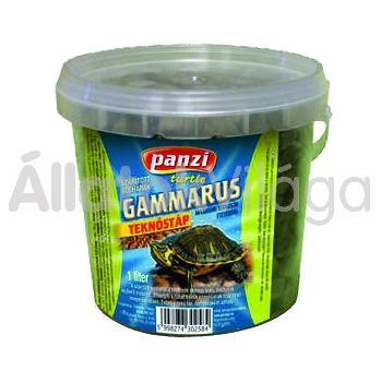 Panzi Gammarus teknőstáp 1 literes vödrös