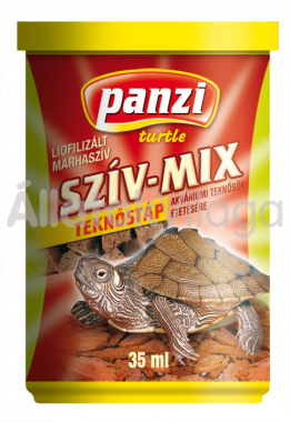Panzi Szív-mix teknőstáp 35 ml-es